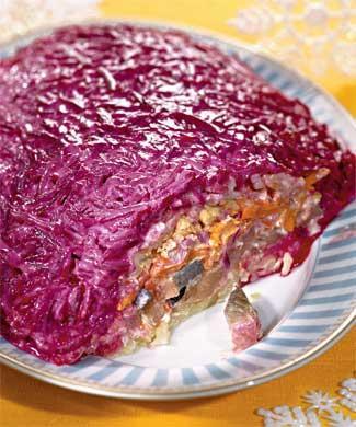 """El plato típico ruso """"Shuba"""""""