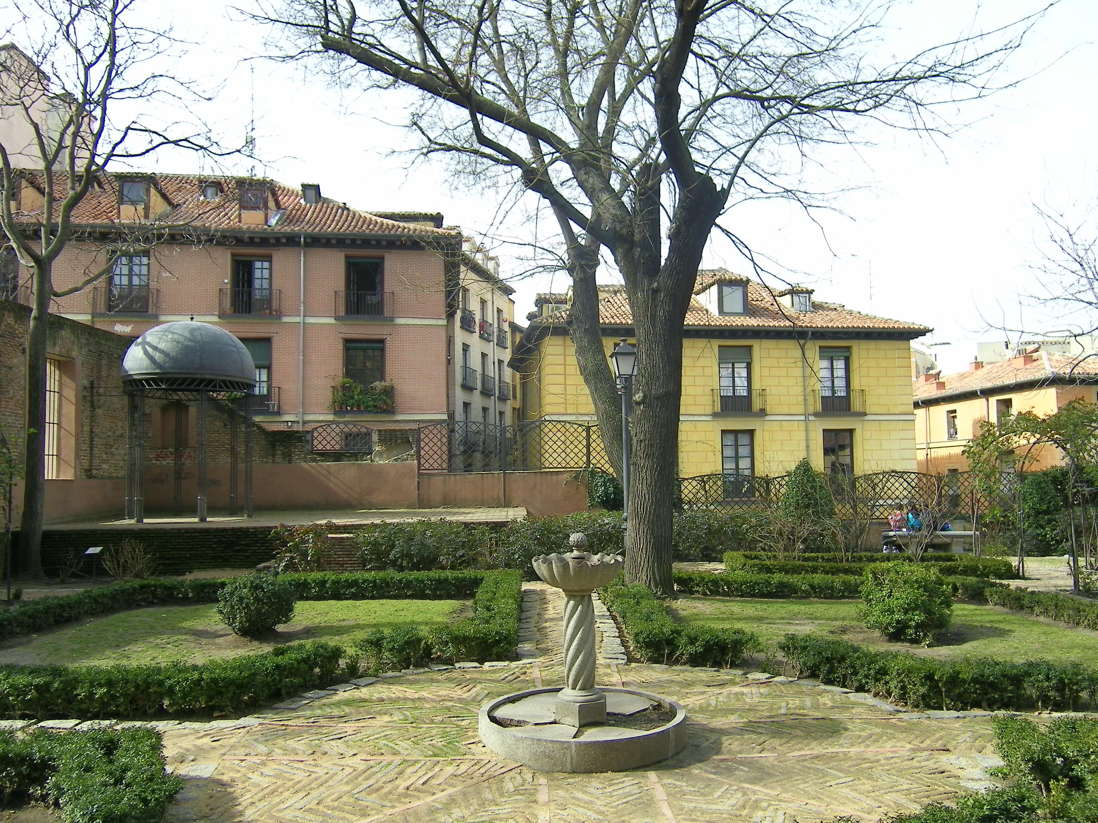 Un lugar secreto en madrid el jard n del pr ncipe de for Calle jardines madrid