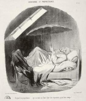 Menudo tunante el casero, Honoré Daumier