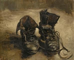 Un par de botas, Vincent Van Gogh