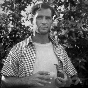 Jack Kerouac, fotografía del blog http://rabbit-s-moon.blogspot.com.es