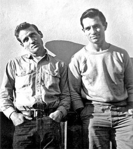 Neal Cassady y Jack Kerouac
