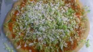 Pizza con masa orgánica de espelta
