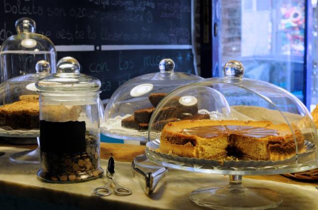 Tarta de dulce de leche y brownie cheese cake