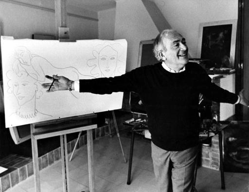 Elmyr de Hory en su estudio. http://blog.hola.com/elmundodecarlosmartorell/tag/elmyr-de-hory