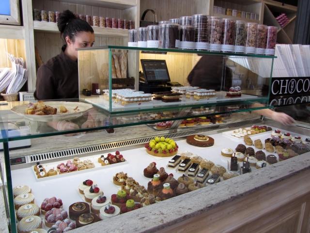 Amplia variedad de pasteles